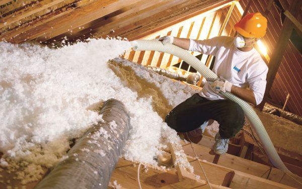 Biri vata Knauf - namo šiltinimas, stogo šiltinimas