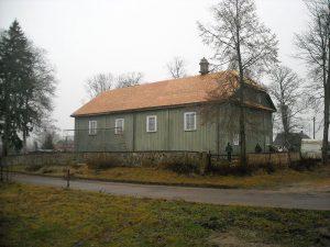 Pavoverės bažnyčia stogo rekonstrukcija gontu danga