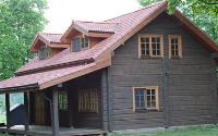 Šlaitinis stogas (tarp gegnių)